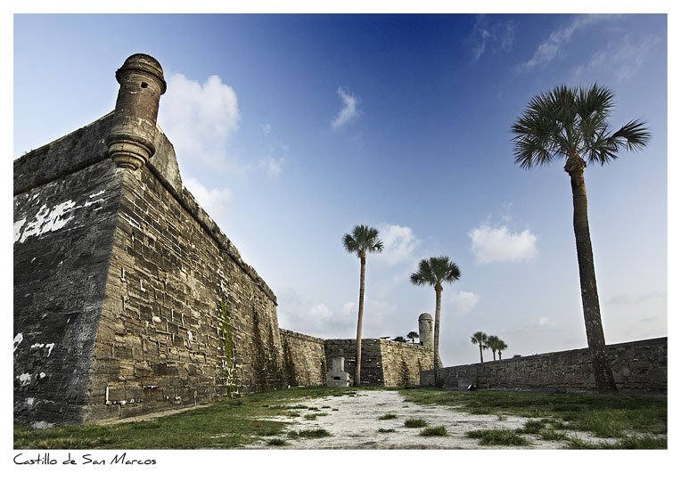 Click to purchase: Castillo de San Marcos, Color
