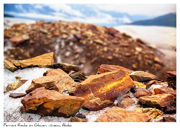 Click to purchase: Ferrous Rocks on Glacier