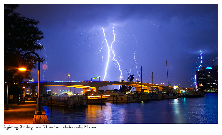 Click to purchase: Lightning Over Jacksonville