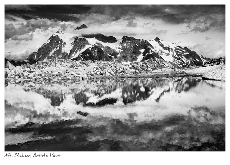 Click to purchase: Mt. Shuksan, Artist's Point
