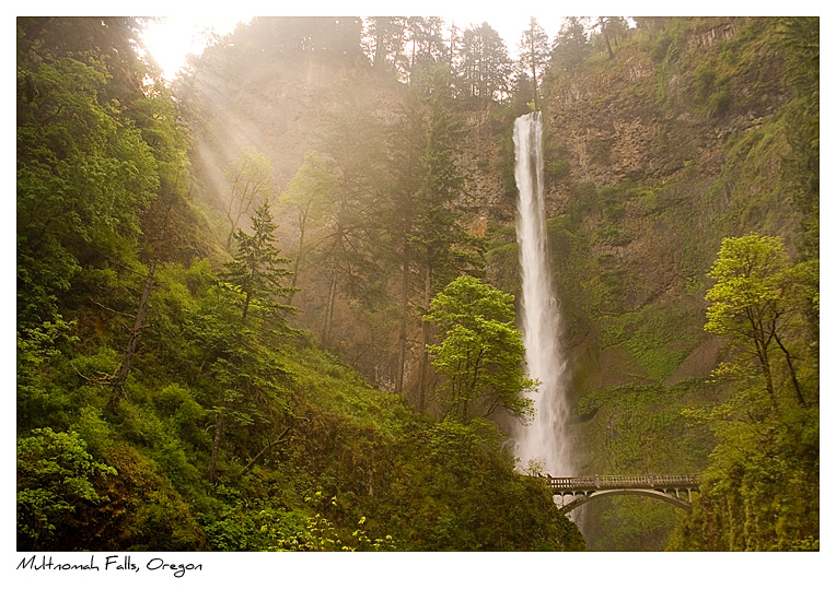 Click to purchase: Multnomah Falls