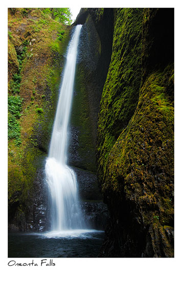 Click to purchase: Oneonta Falls, Color