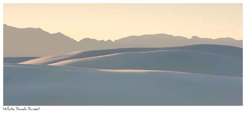 Click to purchase: White Sands Sunset