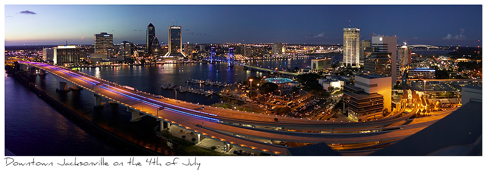 Click to purchase: Downtown Jacksonville, 4th of July